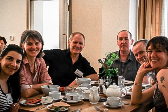 george Jelinek et al, breakfast OMS meeting