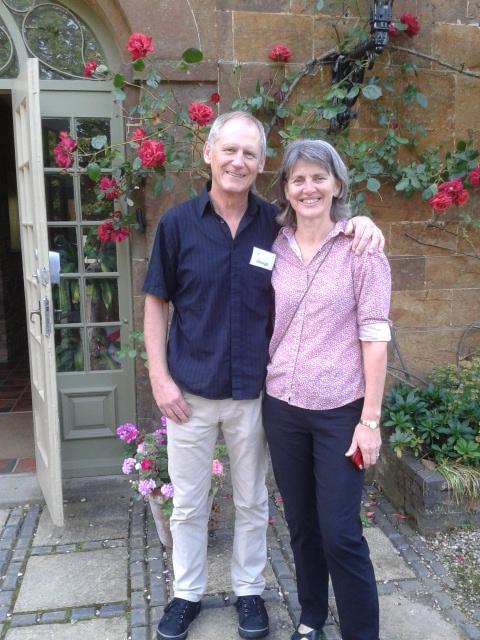Prof Jelinek & his wife Sandra