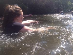 bea swims the xrunner