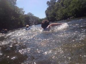 joe swims the xrunner