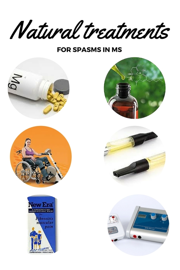Natural treatments for spasm in MS